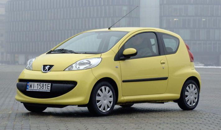 Auta małe - najtańszy - Peugeot 107