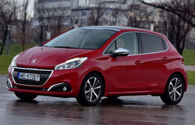 Auta miejskie - najgorszy - Peugeot 208