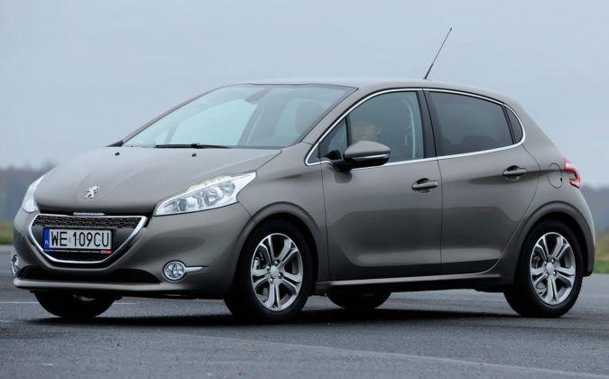 Auta miejskie - najlepszy - Peugeot 208 benzyna