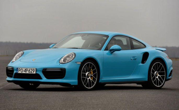 Auta sportowe - najgorszy - Porsche 911 Turbo S