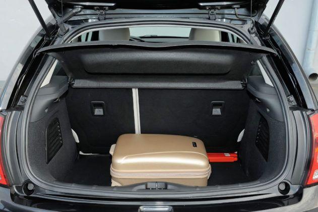 Citroen C3 II - bagażnik
