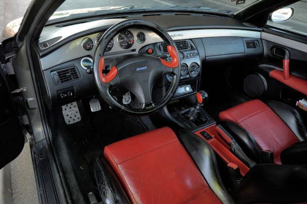 Fiat Coupe - deska rozdzielcza