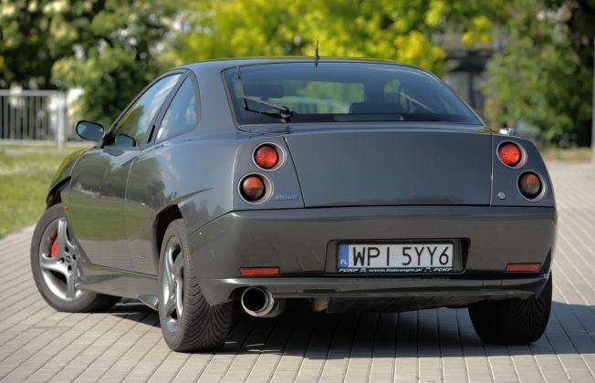 Fiat Coupe - tył