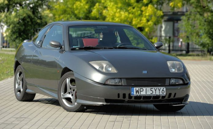 Fiat Coupe - przód