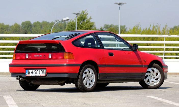 Honda CRX - tył