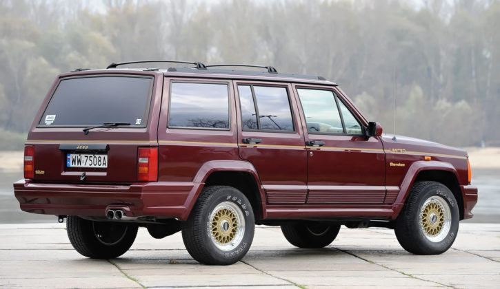 Jeep Cherokee XJ - tył
