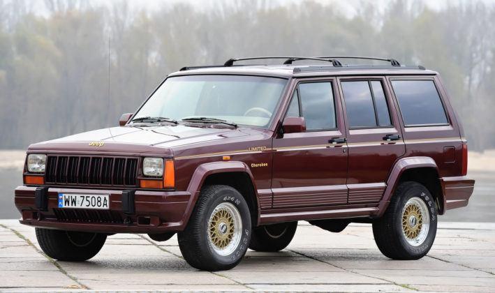 Jeep Cherokee XJ - przód