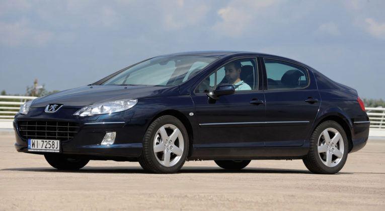 Klasa średnia - najtańszy - Peugeot 407