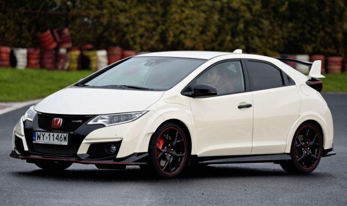 Kompakty - najlepszy - Honda Civic Type R