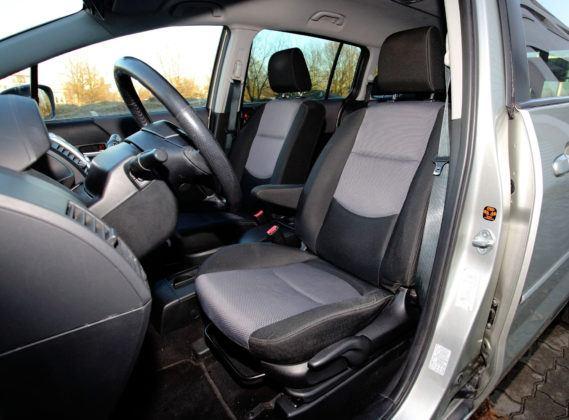 Mazda 5 - fotel kierowcy