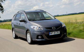 Mazda 5 - otwierające