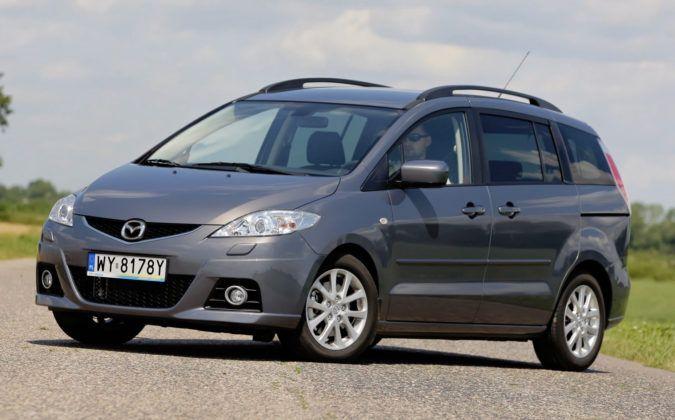 Mazda 5 - przód