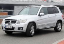 MERCEDES GLK 350CDI X204 3.0d V6 224KM 7AT 7G-Tronic 4Matic WW5840U 04-2010