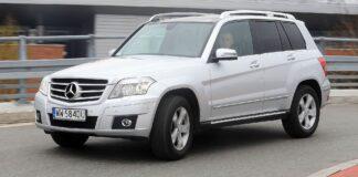 MERCEDES GLK 350CDI X204 3.0d V6 224KM 7AT 7G-Tronic 4Matic WW5840U 04-2010