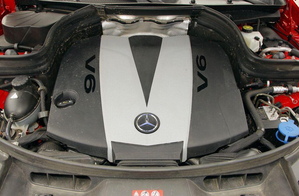 MERCEDES GLK 320CDI X204 3.0d V6 224KM 7AT 7G-Tronic 4Matic WW4899S 12-2008