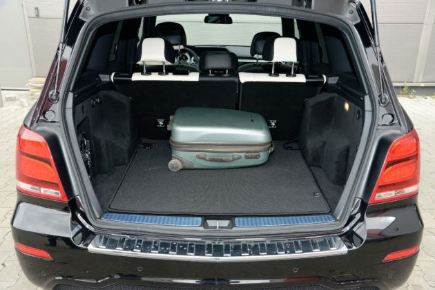 Mercedes GLK - bagażnik