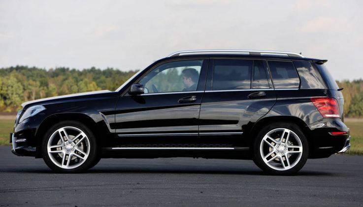 Mercedes GLK - bok