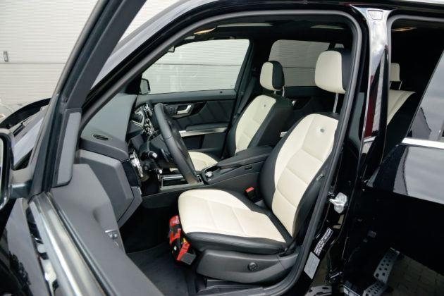 Mercedes GLK - fotel kierowcy