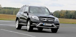 Mercedes GLK - otwierające