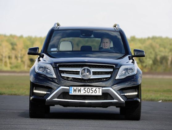 Mercedes GLK - przód