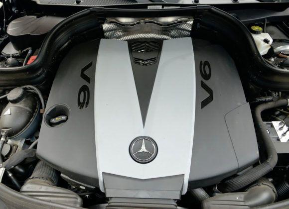 Mercedes GLK - silnik