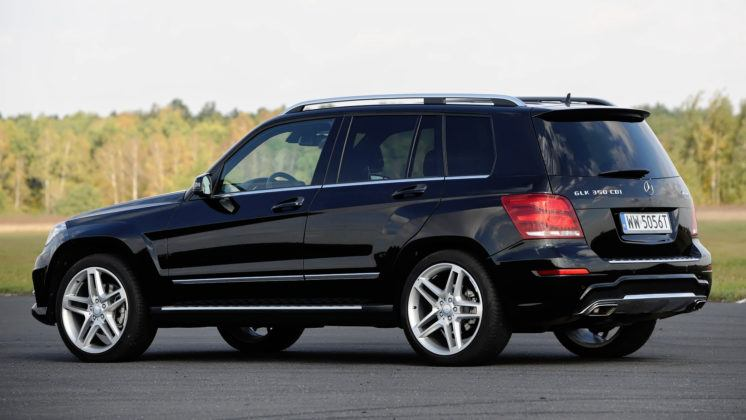 Mercedes GLK - tył