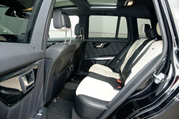 Mercedes GLK - tylna kanapa