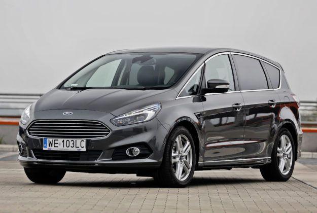 Minivany - najlepszy - Ford S-Max