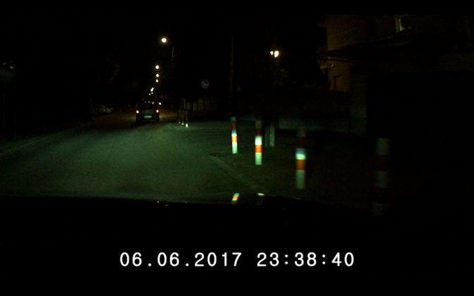 Navroad Mycam HD Next - obraz noc