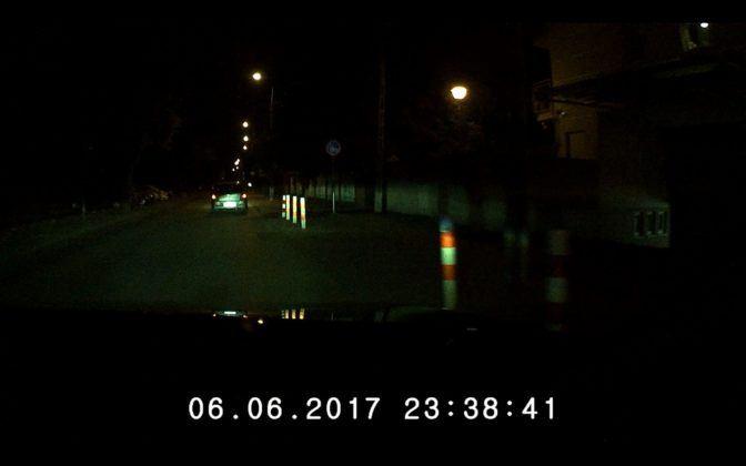 Navroad Mycam HD Pro - obraz noc