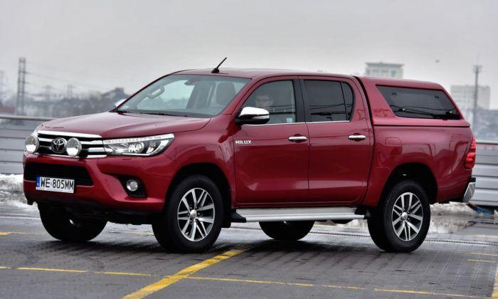 Pick-upy - najlepszy - Toyota Hilux