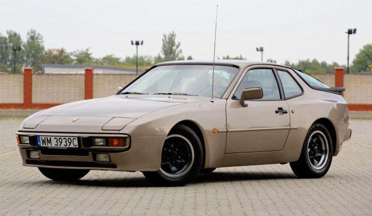 Porsche 944 - przód