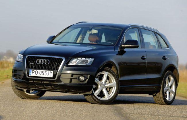 SUVy - najdroższy - Audi Q5