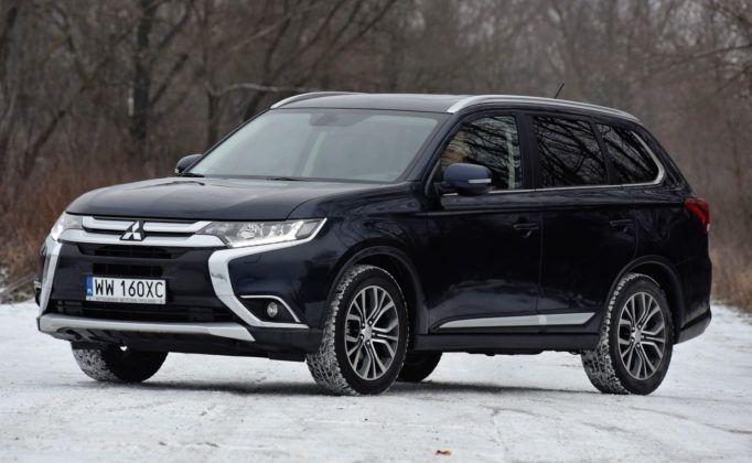 SUV-y - najgorszy - Mitsubishi Outlander
