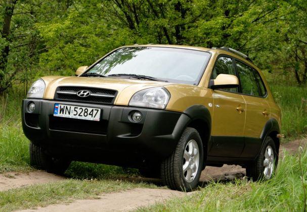 SUVy - najtańszy - Hyundai Tuscon