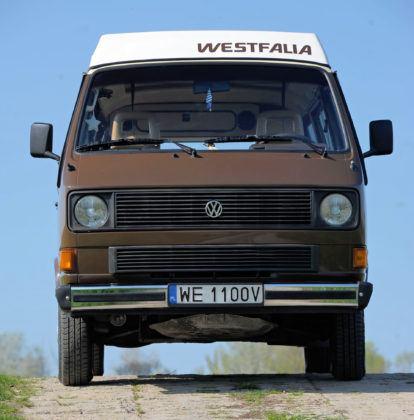 Volkswagen T3 kamper - przód