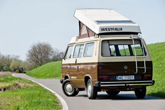 Volkswagen T3 kamper - tył