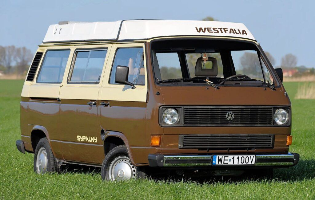 Volkswagen T3 Westfalia - sylwetka 2