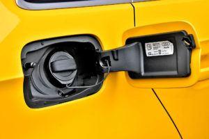 Klapa wlewu paliwa