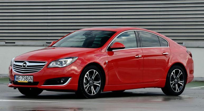 Auta klasy średniej i wyższej - najgorszy - Opel Insignia