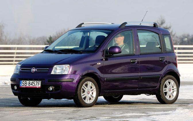 Auta mini - najgorszy - Fiat Panda