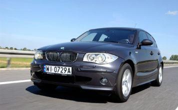 BMW serii 1 - otwierające