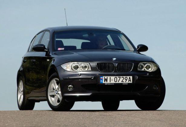 BMW serii 1 - przód