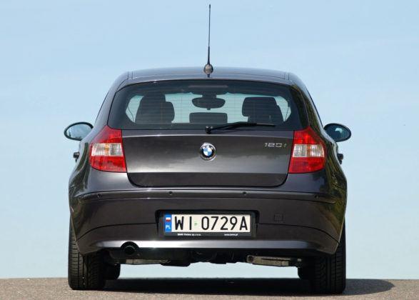 BMW serii 1 - tył