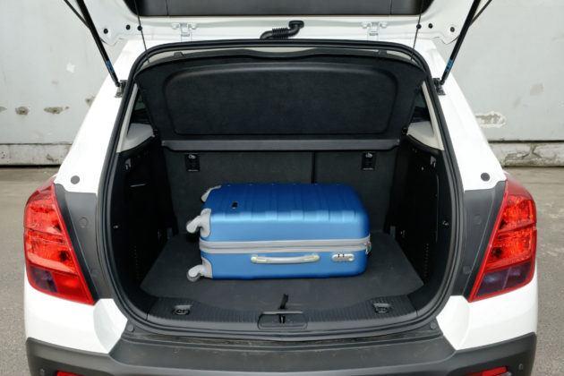 Chevrolet Trax - bagażnik