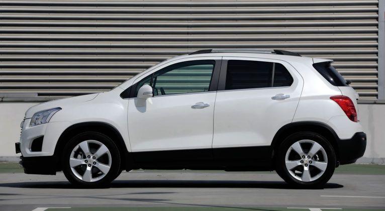 Chevrolet Trax - bok