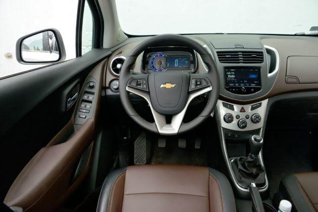 Chevrolet Trax - deska rozdzielcza