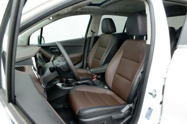 Chevrolet Trax - fotel kierowcy