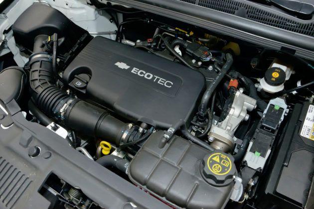 Chevrolet Trax - silnik