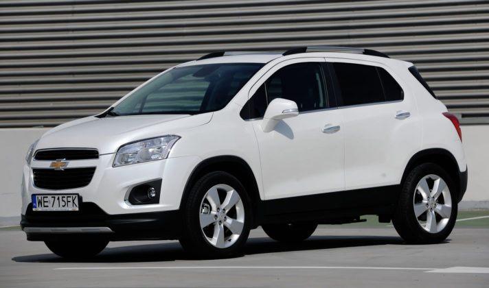 Chevrolet Trax - przód